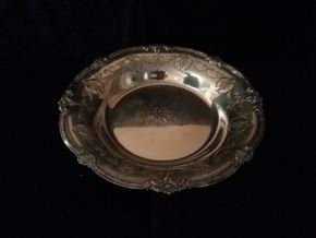 Lot 029 Sterling Silver Centerpiece Bowl by Black Starr and Gorham 14 Inches In Diameter PICK UP IN MANHASSET