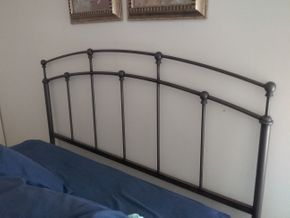 Lot 026 Metal Full Size Head Board 48 Inches Tall PICK UP IN MANHASSET