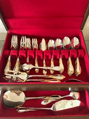 Lot 056 Set Of Yamazaki Stainless Steel Flatware PICK UP IN ROCKVILLE CENTRE
