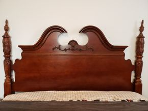 Lot 015 Raymour and Flanigan Headboard 60H x 66W AS IS PICK UP IN WHITESTONE, NY