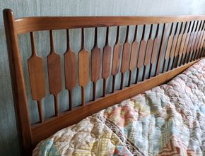 Lot 019 PD-PU/ Mid Century Headboard 78L PICK UP IN EAST ELMHURST ON AUG 19TH