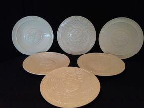 Lot 051 Lot Of 6 Belleek Plates PICK UP IN ROCKVILLE CENTRE
