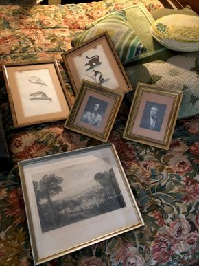 Lot 033 Lot of 5 Small Prints - the largest being 14H x 10w