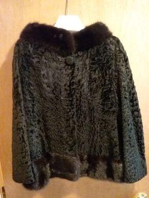 Lot 023 Ladies  Persian Lamb Jacket Size M/L PICK UP IN CEDARHURST
