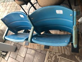 Lot 018 Pair of Yankee Stadium Chairs PICK UP IN RVC