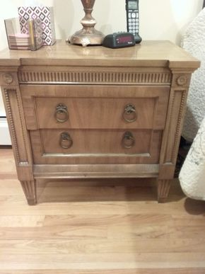 Lot 033 American Martinsville Night Table 24 x 16x 25.25 PICK UP IN OCEANSIDE
