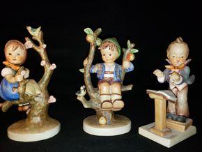 Lot 027 Lot of 3 Hummel Figurines