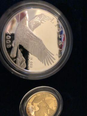 Lot 024 2008 Bald Eagle Commerative Coin Program