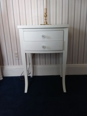 Lot 032 Night Table With Drawer 28 x 18 x 19 PICK UP IN ROCKVILLE CENTRE