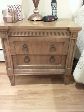 Lot 031 American Martinsville Night Table 24 x 16x 25.25 PICK UP IN OCEANSIDE