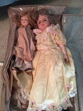 Lot 022 Lot Of Dolls And Accessories PICK UP IN NORTHPORT