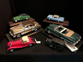Lot 077 Lot Of Assorted Antique Cars - Road Legions/Franklin Mint And Others. PIck Up IN BELLMORE.