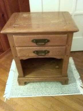 Lot 024 Countryside End Table 26H x 15W x 22L PICK UP IN WESTBURY