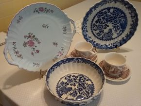 Lot 006 Lot Of Plates and Tea Cups PICK UP IN WESTBURY
