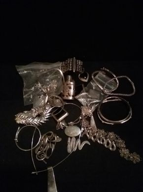 Lot 056 Lot Of Sterling Silver Pieces PICK UP IN N BABYLON