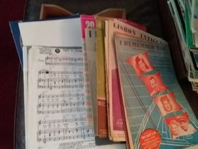 Lot 018 Large Lot Of Sheet Music PICK UP IN FLORAL PARK