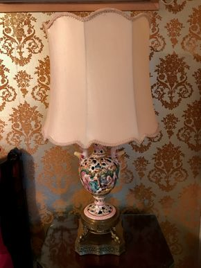 Lot 112 Decorative Lamp. 31.5H. PICK UP IN BELLMORE.