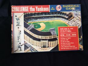 Lot 002 1964 Challenge The Yankees Official Baseball Game  All Cards and GAme Pieces In Box PICK UP IN WEST HEMPSTEAD