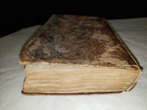 Lot 014 The Dramatic Works Of William Shakspeare Book 1829 Published By Silas Andrew Vol.1 PICK UP IN MINEOLA,NY