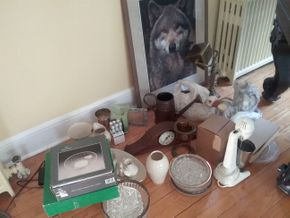 Lot 056 Lot Of Assorted Household and Decorative Items PICK UP IN OLD WESTBURY