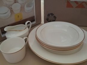 Lot 061 Service for 12 International Ultra Bone China PICK UP IN MANHASSET