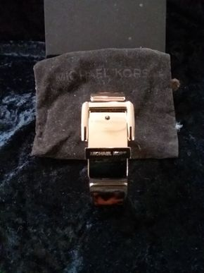 Lot 042 Michael Kors Animal Print Belt Cuff Bracelet PICK UP IN GARDEN CITY