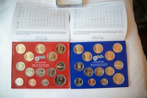 Lot 009 Lot of 24 United States Mint Uncirculated Coin Set 2006, 2007, 2008, 2009, 2010, 2011, 2012