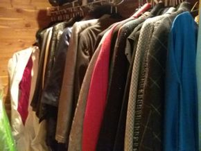 Lot 107 Large Lot Of Designer Clothes and Bags Such As Gucci Armani St John and Worth PICK UP IN OLD BROOKVILLE