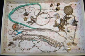 Lot 027 Lot of Sterling Silver Jewelry  PICK UP IN GLEN COVE, NY