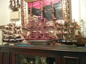 Lot 009 Lot of Wooden Boats Collection PICK UP IN FLORAL PARK