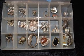 Lot 023 Lot of Sterling Jewelry PICK UP IN ROCKVILLE CENTRE, NY