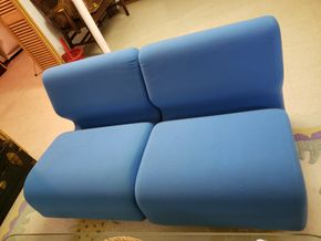 Lot 026 PU/Pd Paypal Vintage Herman Miller Like Chadwick Modular Seating Lounge 4 sections 26H x 21.5 x29.5L PICK UP IN WHITESTONE, NY