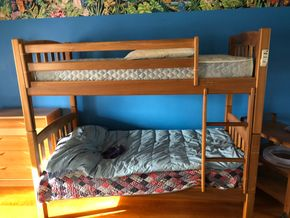 Lot 011 Wooden Bunk Beds PICK UP IN GARDEN CITY