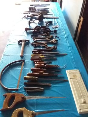 Lot 022 Large Lot Of Vintage and Modern Tools PICK UP IN WESTBURY