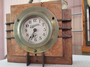 Lot 019 PU/Pd.TJ 6-19 Vintage Oldsmobile Clock 6H x 7W x 1.25D  AS IS PICK UP IN EAST ROCKAWAY,NY