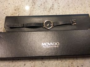 Lot 125 Movado Ladies Watch PICK UP IN OLD BROOKVILLE