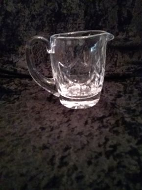 Lot 012 Waterford Creamer Pitcher 4Inches Tall PICK UP IN GARDEN CITY