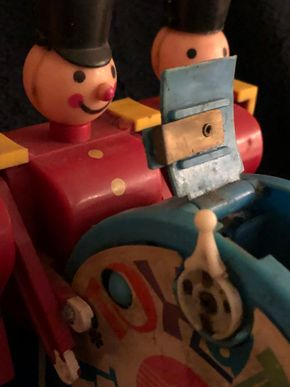 Lot 032 Vintage Little Drummer Plastic Toy