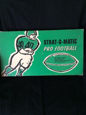 Lot 003  Strat-O-Matic Pro Football Game PICK UP IN WEST HEMPSTEAD