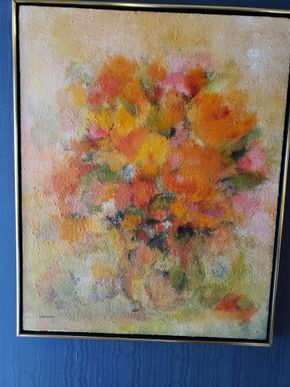 Lot 007 Painting Signed Hormer 31.875 x 25.25W PICK UP IN EAST ROCKAWAY,NY