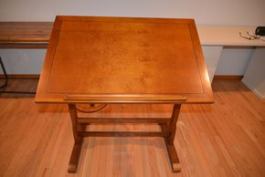 Lot 013 DRAFTING TABLE 39H X 24W X 36L PICK UP IN PORT WASHINGTON