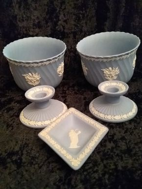 Lot 003 Lot Of Wedgewood Pieces PICK UP IN GARDEN CITY