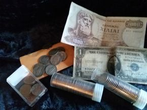 Lot 010 Lot Of Coins and Paper Currency PICK UP IN CEDARHURST