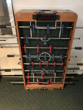Lot 034 Harvard Foosball Table with Handles ITEM CAN BE PICKED UP IN ROCKVILLE CENTRE