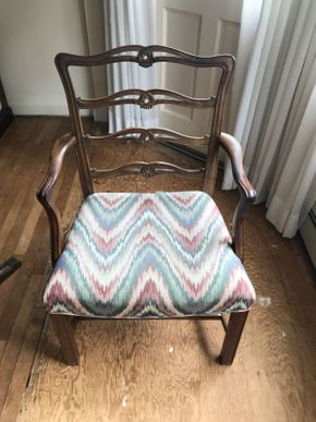 Lot 094 Dining Room Arm chair  ITEM CAN BE PICKED UP IN WEST HEMPSTEAD