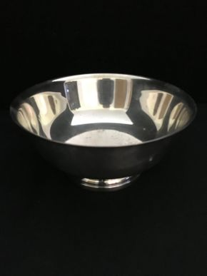 Lot 105  Gorham Silver Bowl   ITEM CAN BE PICKED UP IN WEST HEMPSTEAD