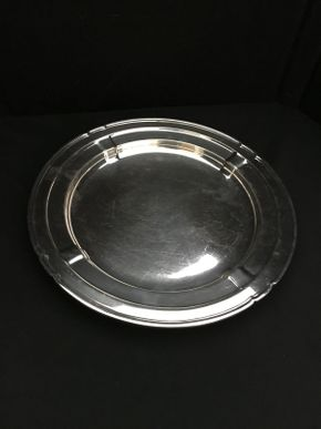 Lot 106 Reed and Barton Silver Round Tray ITEM CNA BE PICKED UP IN WEST HEMPSTEAD