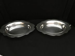 Lot 110 2 Piece Silver Bowls ITEM CAN BE PICKED UP IN WEST HEMPSTEAD