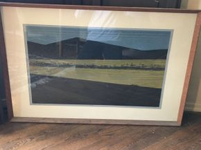 Lot 038 Signed Print By Dean Meeker  ITEM CAN BE PICKED UP IN VALLEY STREAM