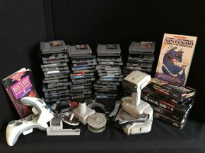 Lot 049 Lot of Assorted Nintendo Games and Accessories ITEM CAN BE PICKED UP IN GARDEN CITY